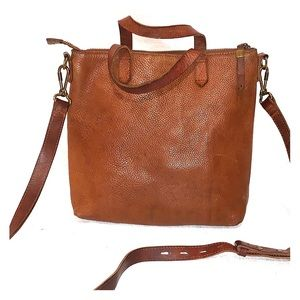 Madewell Brown Leather Crossbody Bag